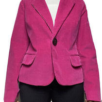 Talbots Womens Blazer Hot Pink Size 8 Photo