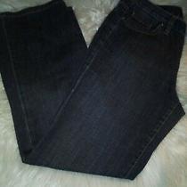 Talbots Womens' Medium Wash 5 Pocket Design Boot Cut Denim Jeans Pants Size 6 Photo