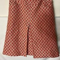 Talbots Womens Professional Career Skirt Pink White Tweed Size 4 Small Lined Photo