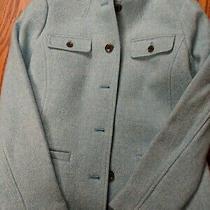 Talbots Wool Blazer/jacket - Aqua - Size 6 Reg Nwt - See Close Up Photos Photo