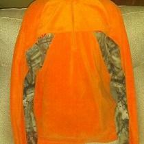 Tallwood Element Wear Men's Fleece Top Size Xxl Orange and Camo Half Zip Fleece Photo