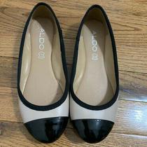 Tan and Black Aldo Flats Size 6 Photo