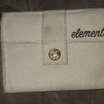 Tan Elelment Wallet Trifold Cloth Checkered Womans Large Simple Classy Photo
