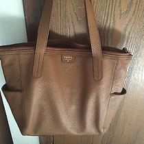 Tan Fossil Medium Leather Handbag Photo