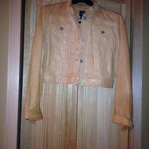 Tan Lamb Leather Jacket Photo