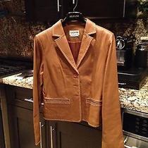 Tan Lambs Leather Jacket Photo