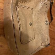 Tan Leather Coach Purse Shoulder Bag  Photo