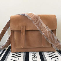 Tan Suede Madewell Purse Photo