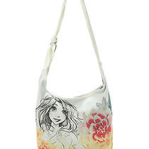 Tangled Sketch Hobo Bag by Disney (Nwt - Official Disney Brand) Rapunzel Photo