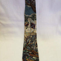 Tango Americana Series the Rebel Yell Civil War Confederate Artwork Tie Necktie Photo