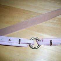Tanner Women's Belt by Tanner - Blush Light Pink - Size M - New Without Tags Photo