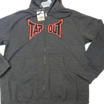 Tap Out Men's Jacket Heather Black Small Nwt Photo