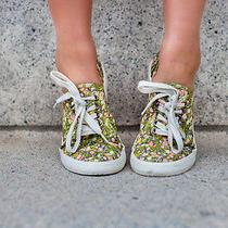 Target Floral Lace Up Shoes Photo