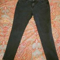 Target Mossimo Washed Black Curvy Skinny Jeans Size 14 Short 14s Photo