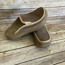 Tatami Birkenstock Mules Shoes Size 8 Womens Brown Leather Comfort Clogs Slip On Photo