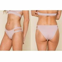 Tavik Chloe Cutout Bikini Bottoms Mauve Size Large Nwt Photo
