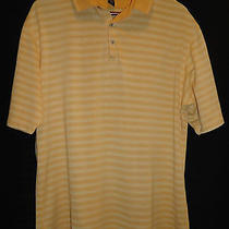 Tb-426 Tommy Bahama 18 Golf Light Orange Stripes High End Golf/polo Shirt Photo