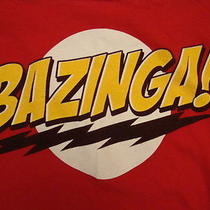 Tbbt the Big Bang Theory Sheldon Cooper Bazinga Funny Tv Show Hipster T Shirt M Photo