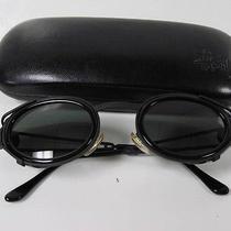 Tc  Vintage Versace Sunglasses With Black Case Photo