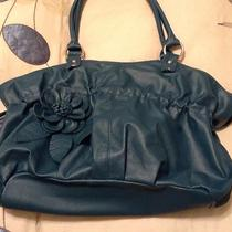 Teal Faux Leather Purse Photo