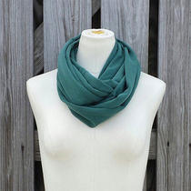 Teal Green Infinity  Scarf - the