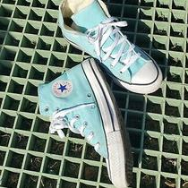 Teal High Top Converse Size 8 Women/6 Men Photo