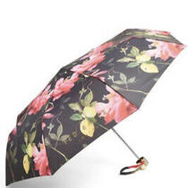 Ted Baker Citrus Bloom Umbrella Excellent Condition Photo