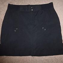 Tek Gear Elements Series Women's Black Zip-Front Casual Skirt Sz M Photo