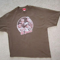 Television City 100% Cotton Men's Brown  Andy Griffin Show T-Shirt Size Xl Photo