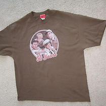 Television City 100% Cotton Men's Brown  Andy Griffin Show T-Shirt Size Xl Photo