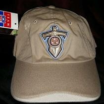 Tennessee Titans Official Nfl Reebok Tan Hat Cap Elasticband New Embroidered Nwt Photo