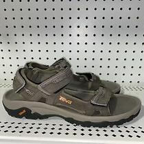 Teva Hudson Mens Athletic Outdoor Hiking Sport Sandals Size 8 Brown Photo