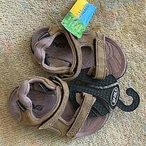 Teva Kids Sandals Nwt Fossil Q109 Brown Size 10 Photo