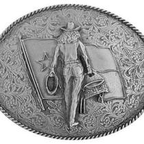 Texas American Cowgirl Saddle Roping Cowboy Hat Wranglers Boots Western Buckle Photo
