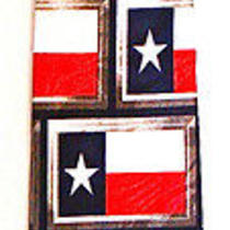 Texas American Flag Flags Novelty Necktie Neck Tie Steven Harris Lone Star State Photo