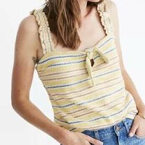 Texture and Thread Madewell Multi/yellow Size Large Tank   Nwt Photo