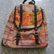 Thai Colorful Fancy Backpack Bag  Photo