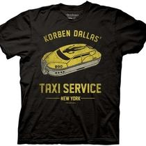 The 5th Fifth Element Korbin Dallas Taxi Service Movie Adult Medium T Shirt Photo