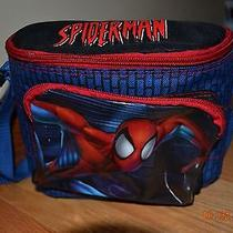 The Amazing Spiderman Marvel School Lunch Box Bag Soft Tote Columbia Pictures  Photo