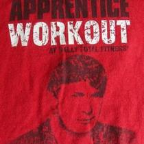 The Apprentice Workout Trump T-Shirt Billionaire in Training Red Xl Large Bally Photo