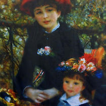 The Art Institute of Chicago Renoir Two Sisters (On the Terrace) 1881 Scarf  Photo