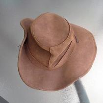 The Aussie Hat Minnetonka Size Medium -Distressed Leather Photo