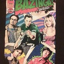 The Big Bang Theory Bazinga Graphic T-Shirt Popular Tv Women's Small Black Photo