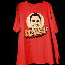 The Big Bang Theory Bazinga Sheldon Cooper Face Comedy Tv Show Men T-Shirt Top Photo