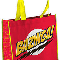 The Big Bang Theory Bazinga Tv Show Ripple Junction Tote Bag Photo