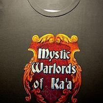 The Big Bang Theory Mystic Warlords of Ka'a T Shirt Adult Large Tee Cbs Tv Show Photo