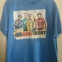 The Big Bang Theory Tv Show Sheldon Cooper Leonard Hofstadter T-Shirt  Sz-Xl Photo