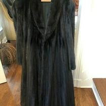 The Brothers Christie Ranch Male Mink Coat Size 16-18  Vintage  Photo