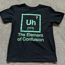 The Children's Placeshort Sleeve Black Periodic Elements Chart Shirt Top7/8 M Photo