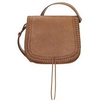 The Chloe Leather Crossbody Flap Handbag Lace Design Tan Truelu by American West Photo